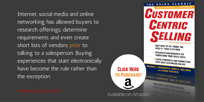 Sales Book - CustomerCentric Selling Second Edition