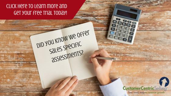 sales talent assessment