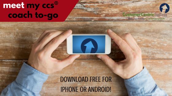 CCS mobile sales app
