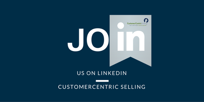 CustomerCentric Selling on LinkedIn