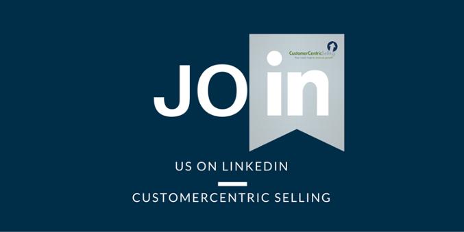 CustomerCentric Selling on LinkedIn